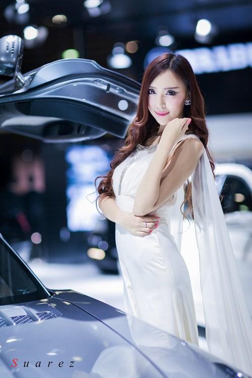 2012广州车展模特